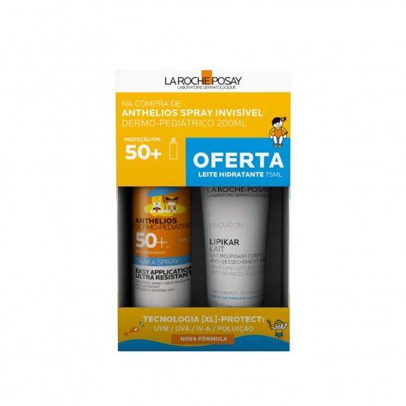 La Roche Posay Anthelios Dermo-Pediatrics SPF50+ 200ml + Oferta Lipikar Leite 75ml