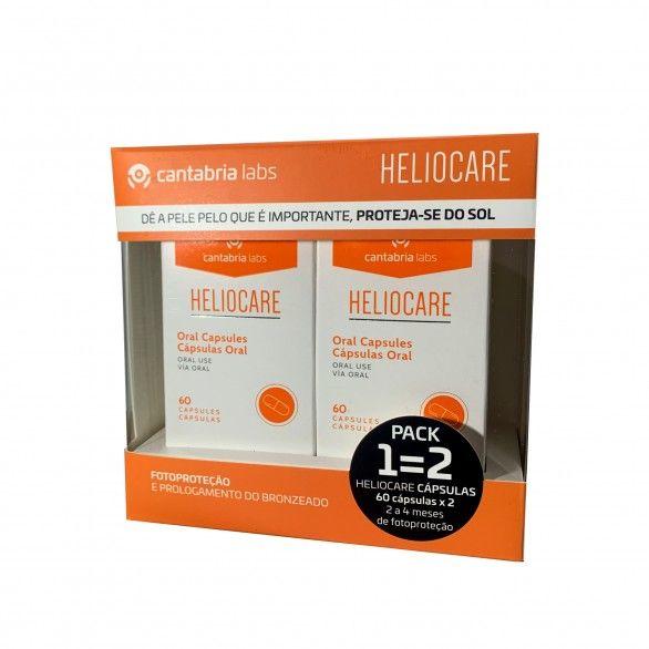 Heliocare 2x60 Cápsulas (1=2)