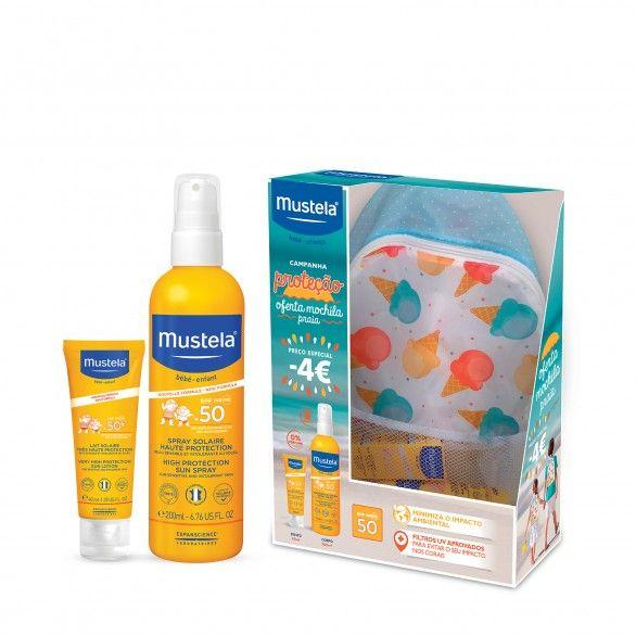 Mustela Pack Solar Spray Corpo + Rosto SPF50+