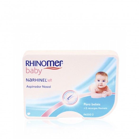 Rhinomer Baby Soft Aspirador Nasal + 2 Recargas