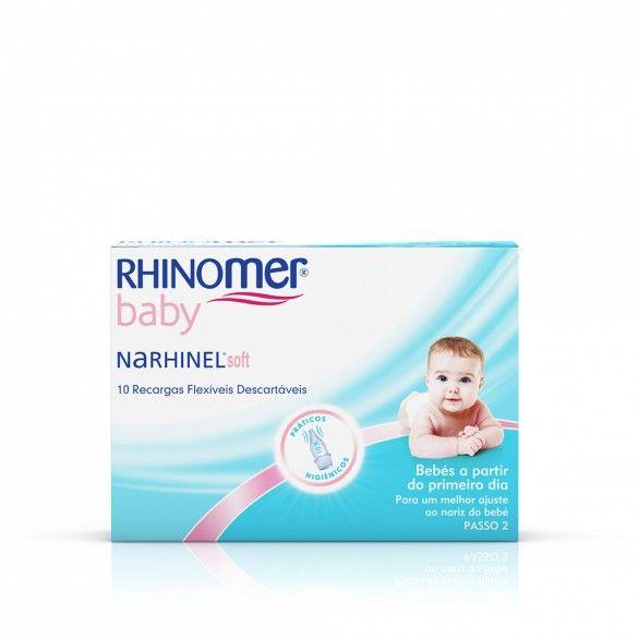 Rhinomer Baby Recargas Flexíveis 10 Unidades