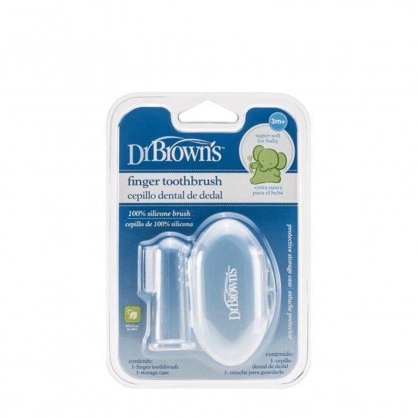 Dr Browns Escova de Dentes Dedo