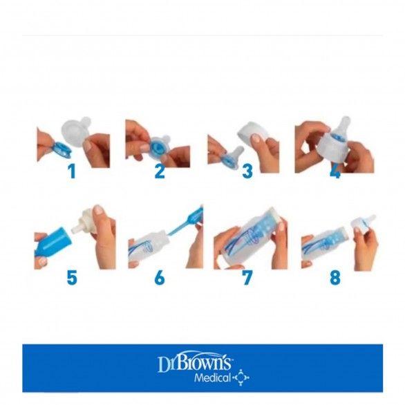 Dr Browns Options Biberão Azul Boca Estreita 250ml