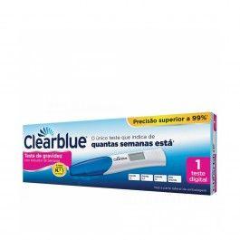 Clearblue Teste De Gravidez Indicador Semanas