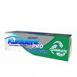 Kukident Pro Complete Creme Sabor Neutro 70g