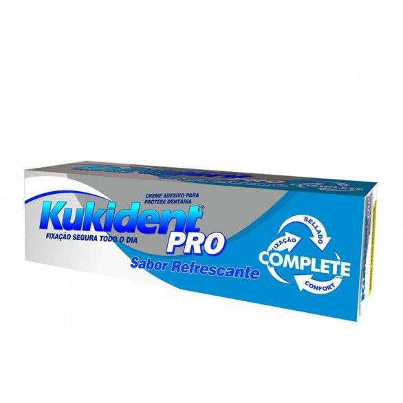 Kukident Pro Complete Creme Sabor Refrescante 47g