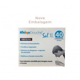Rhinodouche Sal XL Saquetas Lavagem Nasal - 5 g x 40 Saquetas
