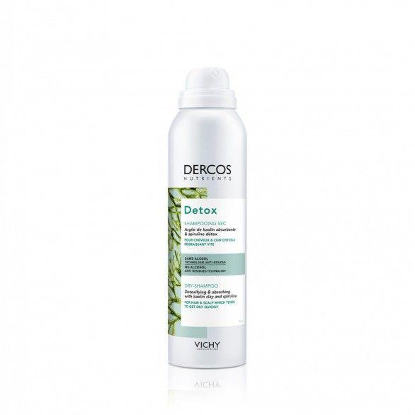 Dercos Nutrients Detox Champô Seco 150ml
