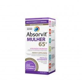Absorvit Mulher 65+ Multivitamínico 300ml